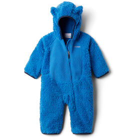 Columbia Foxy Baby Sherpa Bunting Overall Infant, bright indigo